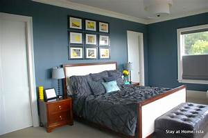 Blue And Gray Bedroom Décor Blue And Grey Bedroom Color