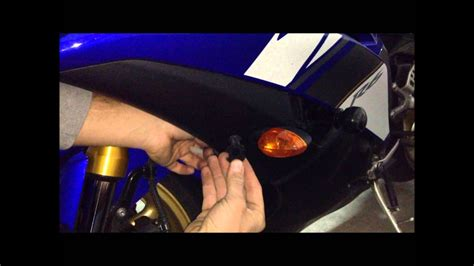 Como Poner Intermitentes Led Moto R6 R Signals Light