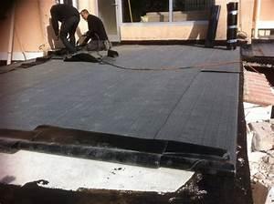 Produit Etancheite Terrasse : etancheite terrasse avant carrelage etancheite toiture ~ Melissatoandfro.com Idées de Décoration