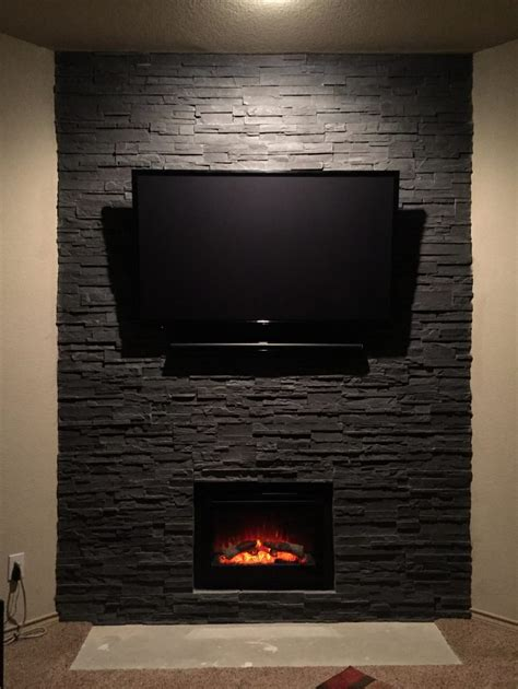 dull  dramatic fireplace transformed  cultured