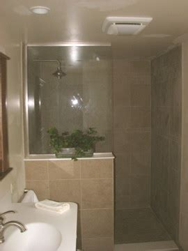 open showers open shower traditional bathroom chicago