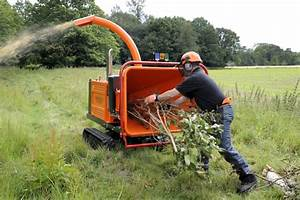 Broyeur à Végétaux : broyeurs automoteurs sur chenilles de timberwolf ~ Dallasstarsshop.com Idées de Décoration