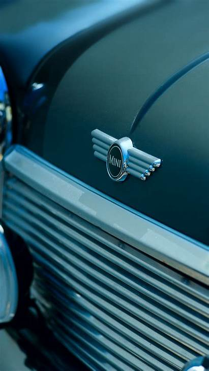 Cooper Mini Headlights Iphone Background Parallax 6s