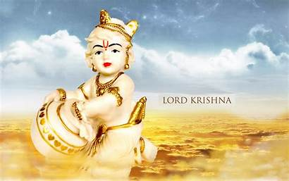 Krishna Lord Wallpapers Janmashtami Bal Desktop 1080p