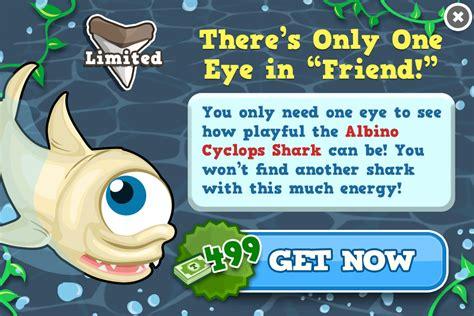 albino cyclops shark tiny zoo wiki fandom powered  wikia