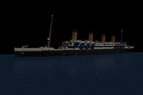titanic sinking at 0 15 am minecraft project