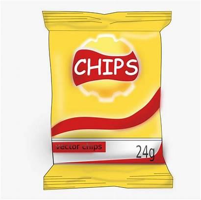 Clip Snack Chips Clipart Snacks Potato Clipartkey