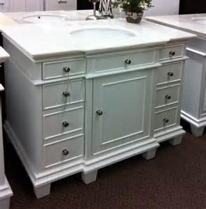 classic white bathroom vanity ba746342w