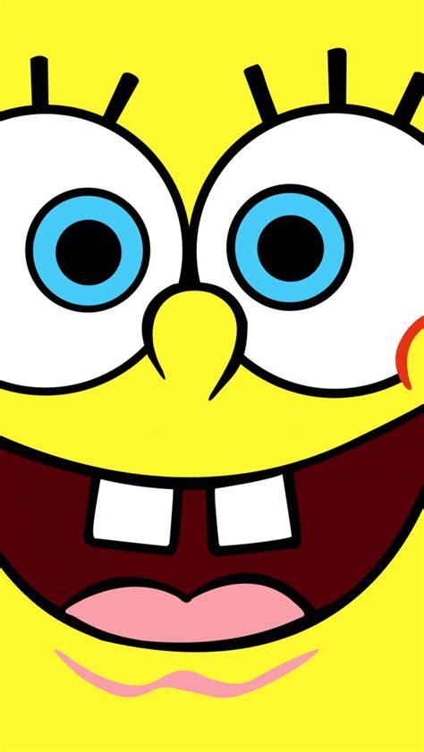 spongebob smiley face hd wallpaper wallpapersgg