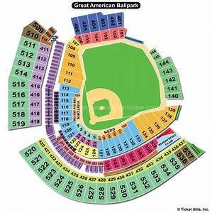 Great American Ball Park Cincinnati Oh Seating Chart View