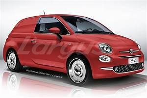 Fiat 500 Hybride : l 39 utilitaire virtuel du vendredi 2 la fiat 500 jardini re photo 1 l 39 argus ~ Medecine-chirurgie-esthetiques.com Avis de Voitures