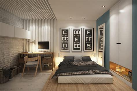 image d une chambre décorer les murs d une chambre avec des briques deco