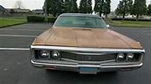 1971 Chrysler New Yorker Tour, Start Up, Drive - YouTube