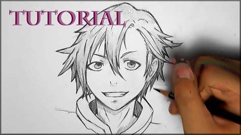 anime boy hair drawing  getdrawingscom