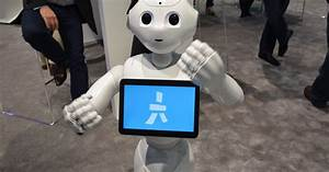 pepper the human shaped robot mwc 2016