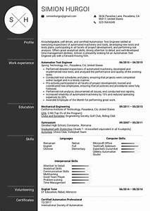 Production Manager Resume Sample Resume Examples By Real People Automation Test Engineer