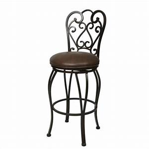 pastel furniture magnolia 30quot swivel bar stool in coffee With magnolia home furniture bar stools