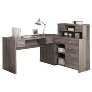 monarch specialties inc corner computer desk with hutch reviews wayfair