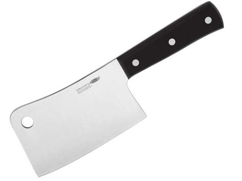 cleaver knife why is there a on the blade of cleaver or bone
