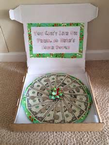 Pizza Box Money Gift Ideas Pinterest