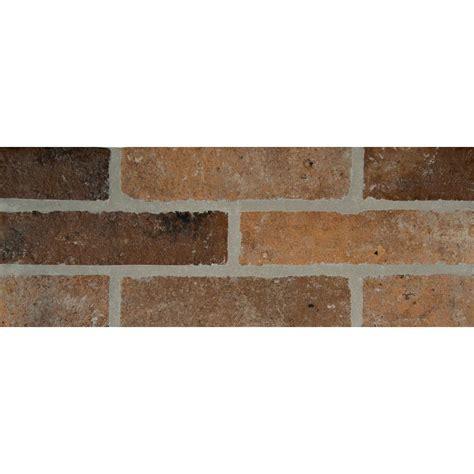 ms international rustico brick 2 1 3 in x 10 in glazed