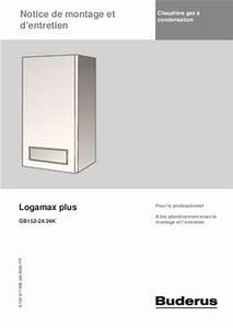 Buderus Logamax Plus Gb152 : buderus gb 132 notice manuel d 39 utilisation ~ Eleganceandgraceweddings.com Haus und Dekorationen