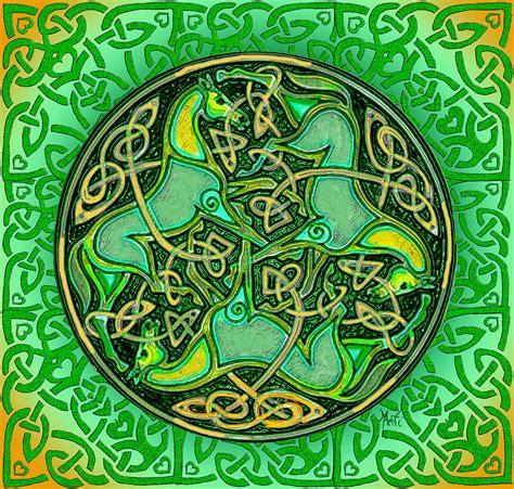 3 Celtic Irish Horses Digital Art by Michele Avanti