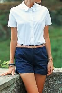 Navy Blue School Uniform Shorts for Girls