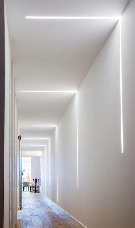 impressive led hallway lighting designs homemydesign