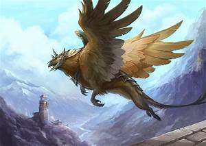Griffin - Mythical Creatures Wallpaper