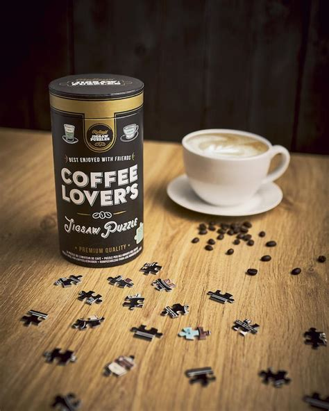 Showing results for jigsaw puzzle coffee table. Coffee Lovers 500 Piece Jigsaw Puzzle - Ridley's Game - Unique Puzzles - Always Fits