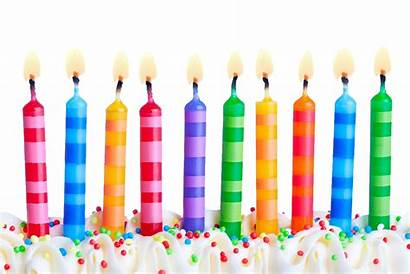Birthday Candles Transparent Candle Happy Cake Clipart