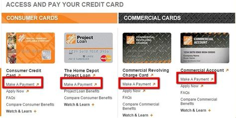 Home depot project loan credit card is feasible to work up any home improvement plans; Home Depot Credit Card Bill Pay - MyCheckWeb.Com
