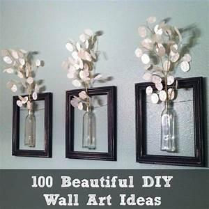 100, Beautiful, Diy, Wall, Art, Ideas, U2013, Diy, Cozy, Home