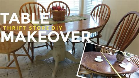 How To Refinish a Kitchen Dining Table: Vintage / Shabby