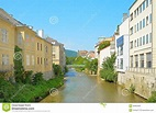 Baden bei Wien, Austria stock photo. Image of street ...