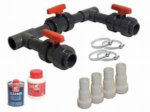 By Pass Piscine : kit by pass complet basic pour pompe chaleur piscine ~ Melissatoandfro.com Idées de Décoration