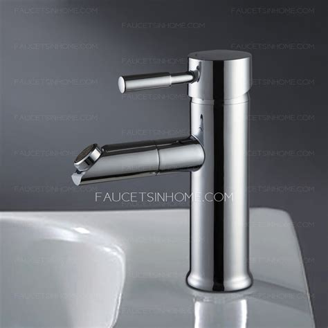 Decorative Chrome Finish Bathroom Sink Faucets