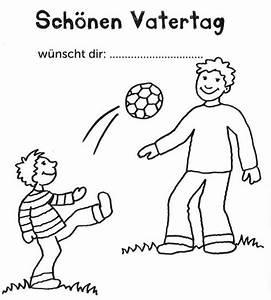 Geschenk Für Vater Der Schon Alles Hat : kostenlose malvorlage vatertag vater und sohn spielen fu ball zum ausmalen ~ Yasmunasinghe.com Haus und Dekorationen