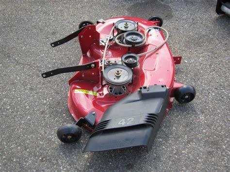 used mower deck for craftsman craftsman 42 quot manual engagement mower deck 424342