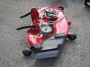 Craftsman 42 U0026quot  Manual Engagement Red Mower Deck 424342