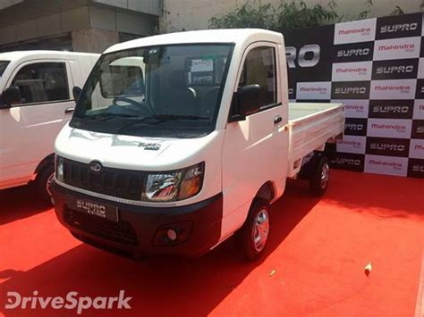 mahindra launches   supro variants  bangalore