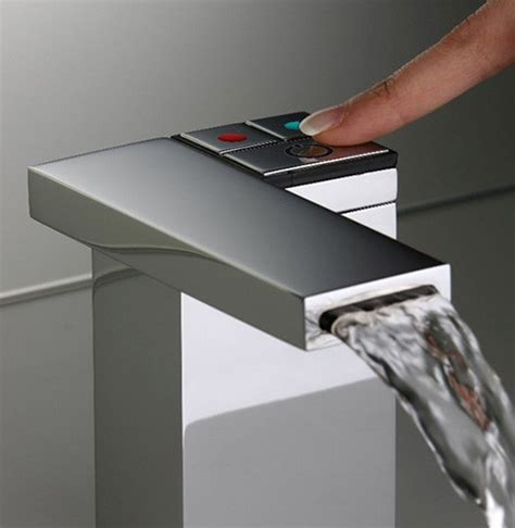 electronic faucet feeling  silfra clean  touch