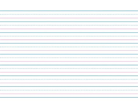 writing paper printable  children printable lined