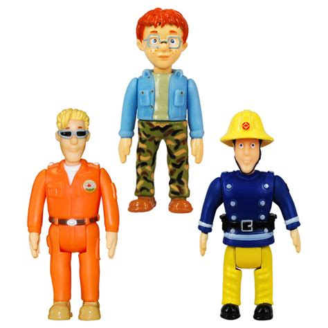 siege balancoire sam le pompier assortiment de 2 figurines ouaps king