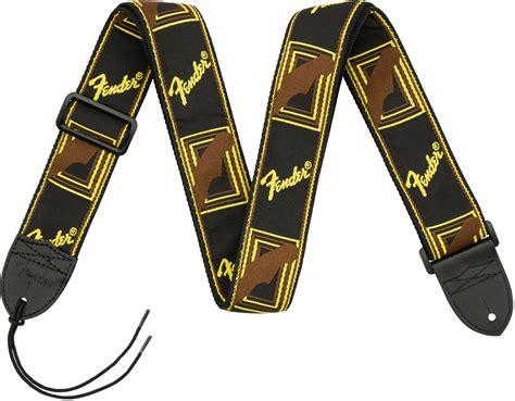 fender  monogrammed straps accessories