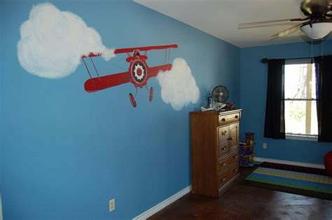 Kids Airplane Room At Home Design Concept Ideas