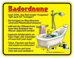 badezimmer zubehör shop blechschild badordnung spruchschild badezimmer deko gelb rot