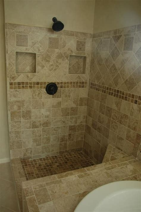 A Few Loose Tiles Turned To This  Tile Design And Showers