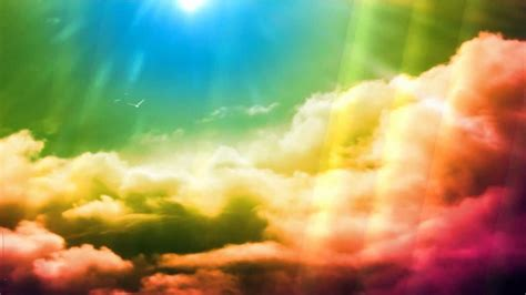 rainbow animated wallpaper httpwwwdesktopanimatedcom